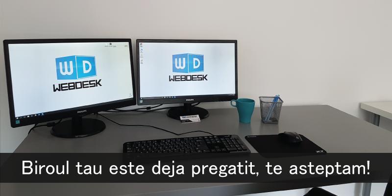 angajare webdesk agency
