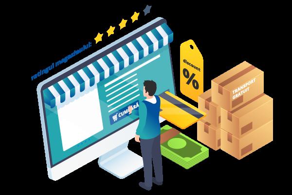 Magazin online Start-up Webdesk