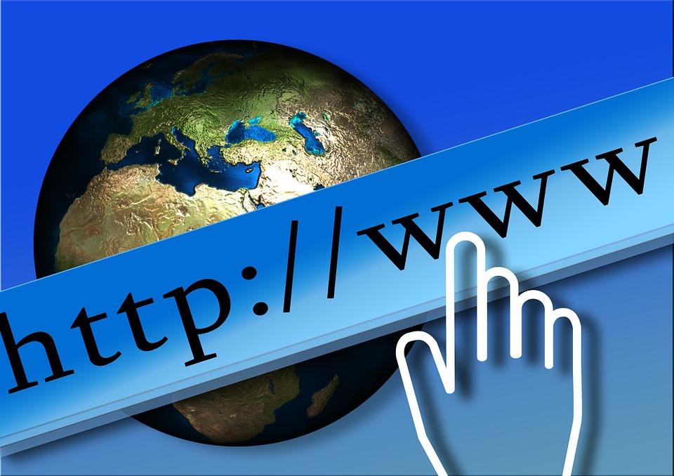 creare site web