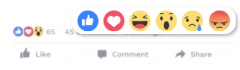 Facebook ADS reacts
