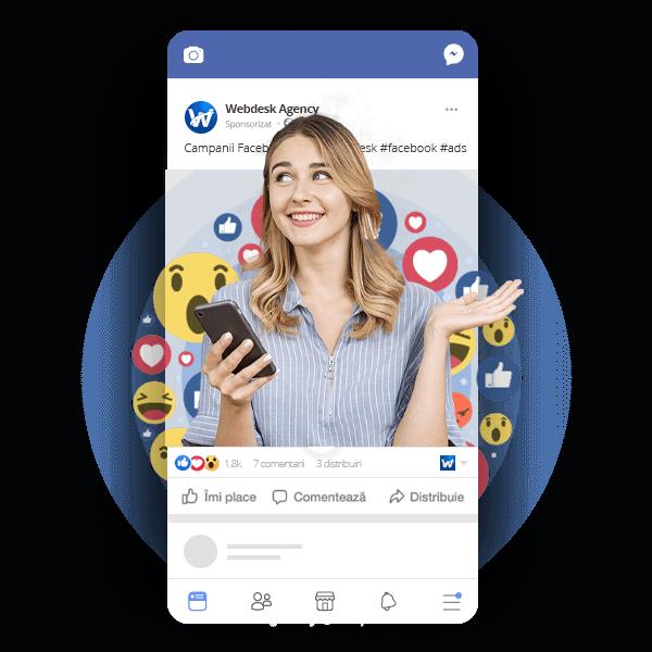 Campanii eficiente Facebook Ads