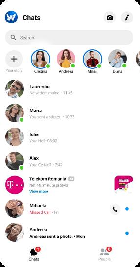 Reclama Facebook Messenger