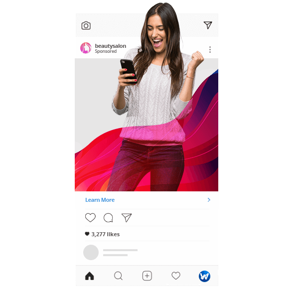 Targetare public Instagram