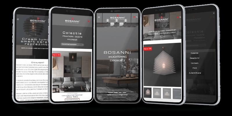 Bosanni website responsive