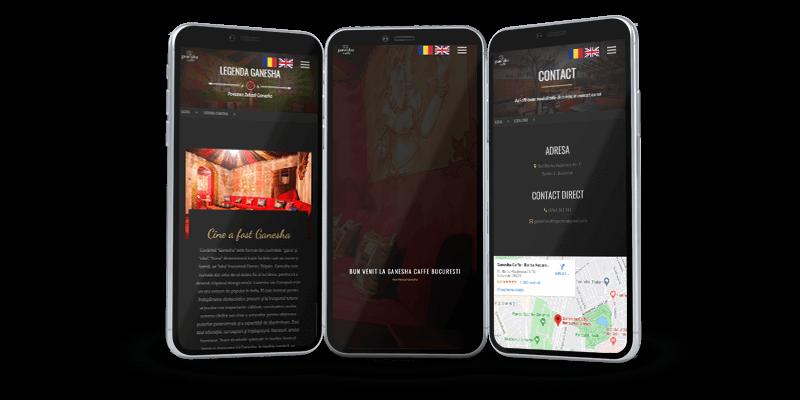 Ganesha caffee website