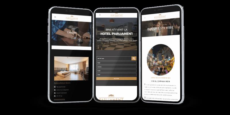 Website Hotel Parliament Bucuresti